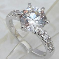 This is a stunning Wedding Ring, that can be used as your engangement ring or just