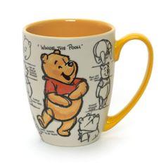 Winnie The Pooh Mug, Animation Collection Disney Coffee Mugs, Disney Mugs, Cute Coffee Mugs, Cool Mugs, Coffee Cups, Winnie The Pooh Mug, Winnie The Pooh Friends, Pooh Bear, Disney Winnie The Pooh