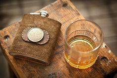 Blind Pig Flask Co /leather flask/Cashiers, North Carolina