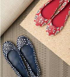 'Minnie' Travel Ballet Flat