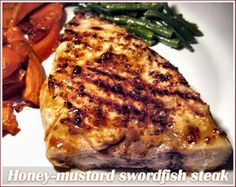 Honey mustard swordfish steaks - Cooksister | Food, Travel, Photography