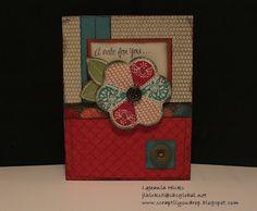 CTMH Card using Stella Paper
