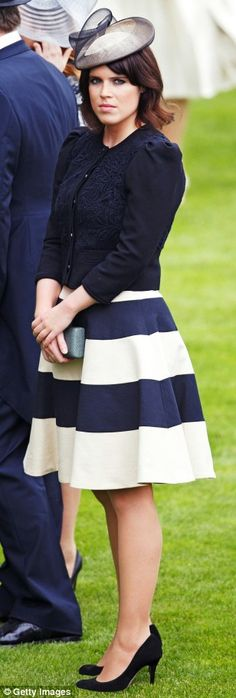 6/18/13: Princess Eugenie in Jaeger at Royal Ascot