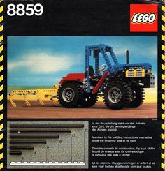 Lego Technic A Lego tractor that I was given for Xmas when I was just Still trying to find one for sale somewhere to buy just for old times sake 😊 Lego 4, All Lego, Lego Tractor, Tractors, Lego Boxes, Lego Kits, Vintage Lego, Retro Cartoons, 80s Kids