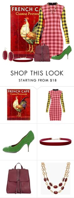 """rooster"" by kim-coffey-harlow ❤ liked on Polyvore featuring ArteHouse, House of Holland, Dries Van Noten, Humble Chic, Jigsaw, Talbots and Kendra Scott"