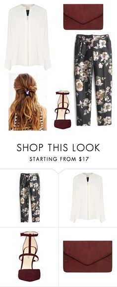 """Untitled #357"" by mariaoprea ❤ liked on Polyvore featuring J.Crew, Derek Lam, Nine West and Dorothy Perkins"