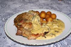 Hříbky na smetaně Stuffed Mushrooms, Cooking Recipes, Meat, Chicken, Food, Drinks, Cooking, Stuff Mushrooms, Drinking