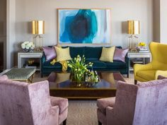 The top current design trends are all about introducing touches of luxury, color and texture to living spaces. See the latest designs from HGTV's favorite tastemakers and learn how to make your own space look fresh and up-to-date.