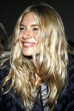 Sunkissed natural waves.