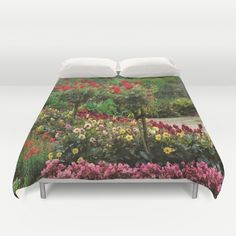 Flower Power Duvet Cover by Flower Power, Duvet Covers, Flowers, Pictures, Photos, Royal Icing Flowers, Flower, Florals, Grimm