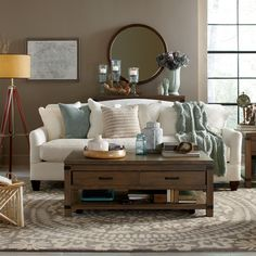 Beautiful neutral couch