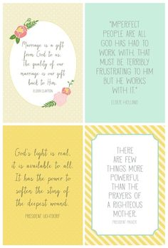 Pretty printable quotes from #LDSgeneralconference. Wonderful words of wisdom. by jillian.jans