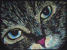 Forest Feline by Debby Hamilton, Aotearoa Quilters (New Zealand)