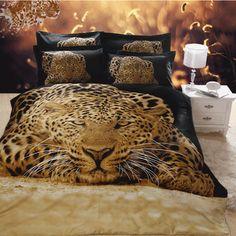3D Comforter Sets | 100% cotton 3D printing bedding set animal bed sheets /printed duvet ...