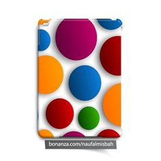 Colorful Circles iPad Air Mini 2 3 4 Case Cover Rainbow