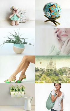 ✿Wonderful spring✿ by Olesya Beauty on Etsy--Pinned with TreasuryPin.com