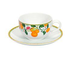 Xícara para Chá com Pires Algarve - 180ml