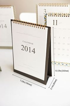 http://MochiThings.com: 2014 Pattern Desk Calendar