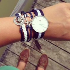Some lovely accessories! Shop the timepiece at www.danielwellington.com! #danielwellington #fblogger #prepster