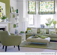 15 Pretty Living Room Decors | Home Design Lover