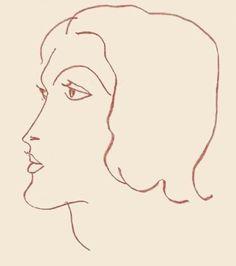 Portrait of a Woman - Henri Matisse