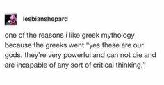 Greek Mythology Humor, Greek And Roman Mythology, Greek Gods, Percy Jackson Memes, Percy Jackson Books, Percy Jackson Fandom, Funny Quotes, Funny Memes, Hilarious