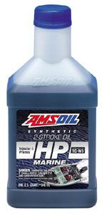 AMSOIL HP Marine Synthetic 2 Stroke Oil - Injector or Premix  - See more AMSOIL 2 Stroke products for boating and snowmbiles at http://shop.syntheticoilandfilter.com/motor-oil/2-stroke/