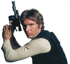 Han Solo -  Everyone's favorite stuck-up, half-witted, scruffy-looking nerf-herder! or loveable rogue - take your pick