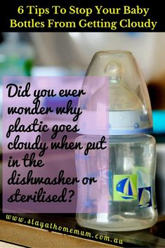 47ad67e702b 6 Tips to Stop Baby Bottles Going Cloudy Baby Bottle Storage