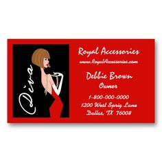 76 best business cards with divatude images on pinterest business accessories and fashion diva business cards reheart Choice Image