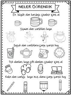 Bullet Journal June, Bullet Journal Ideas Pages, Doodle Quotes, Doodle Borders, Turkish Language, Book Corners, Exercise For Kids, Pre School, Preschool Activities