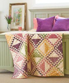 Other Antique Textiles Capable 2 Vintage Antique Appliqué Patchwork Tulip Pillow Sham Cases Lancaster County Pa Colours Are Striking