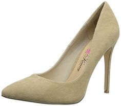 Penny Loves Kenny Women's Opus-Sue Dress Pump, Natural, 6.5 M US >>> Click image to review more details.