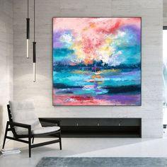 Large Modern Wall Art Painting Art DecoLarge Abstract image 2 Large Painting, Painting Art, Colorful Artwork, Extra Large Wall Art, Office Wall Art, Modern Wall Decor, Texture Art, Original Paintings, Canvas Art