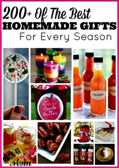 200 Homemade Gift Ideas For Every Season - DIY Gift World