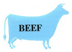 Beef. The General Foods Kitchens Cookbook  Random House, 1959  Illustrations by Mary Ronin