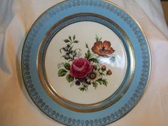 MARK ROBERTS DECORATIVE or cabinet plate. $20.00, via Etsy.