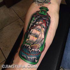 Ship in a bottle ⛵ @eternalink @tatsoul