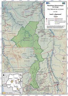 Proposed Lomami National Park, Democratic Republic of Congo.