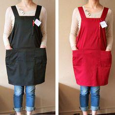 Buy Japanese black khaki dark blue gray iron restaurant clerk uniforms aprons | polo day single apron, $3.39/piece | JOJbuy.com