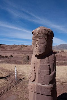 Tiahuanaco | (If I am right?) This is in Peru. Similar to Easter Island Moia's Statues. Much of our Oceans in the past was not over the ground that what now lays under the Ocean Sea waters.
