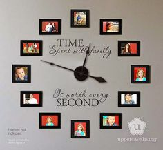 Jeanmarie's Uppercase Living Expressions : TIME Spent with family, is worth every SECOND!