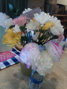 My flowers from the kidkid