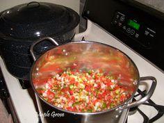 Maple Grove: Salsa Canning Recipe