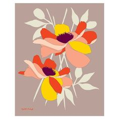 Elizabeth Grubaugh Water Lily Print #laylagrayce