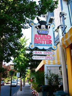 The Mad Batter restaurant Cape May New Jersey. Great breakfast!