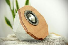 Share It If You Love it...we can't attest to the sound quality of this pair of Designer Concrete Speakers: Prototype, but as far as looks go, we can't deny that it is a real looker and something ...
