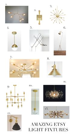 Amazing Etsy Lighting (elements of style) Bedroom Lighting, Home Lighting, Lighting Design, Pendant Lighting, Pendant Lamp, Lighting Ideas, Ceiling Fixtures, Light Fixtures, Ceiling Lights