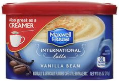 Maxwell House International Coffee Vanilla Bean Latte ** You can get additional details at the image link.