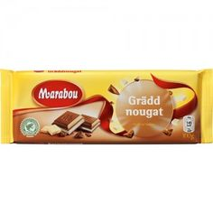 Gräddnougat. An absolute favorite. Creamy, dreamy hazelnut truffle filling!